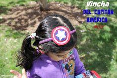 #ad #AvengersUnite #collectivebias #diy #vincha #CapitánAmérica