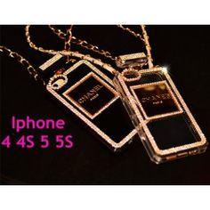 Luxe Coque Chanel Parfum Diamant pour iPhone 4/5/6 en silicone   http://www.jeuxciel.fr/coque-iphone-/47-coque-chanel-parfum-diamant-iphone-44s55s-.html