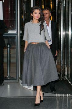Selena Gomez Outifts - Selena Gomez New Album Promo Tour   Teen Vogue