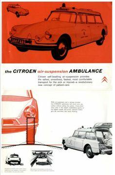Slough built Citroën DS Ambulance
