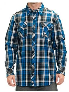"Men's ""Captive"" Flannel by Sullen Clothing"
