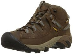KEEN Women's Targhee II Mid WP Hiking Boot,Slate Black/Flint Stone,8.5 M US * Find out more about the great product at the image link.