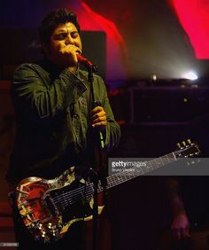 The Deftones perform on stage at 'MTV Icon 2004 - The Cure' at Old Billingsgate Market on September 17, 2004 in London. The annual live tribute event, usually held in the US arriving in Europe for the first time, honours a band or recording artist for their significant contribution to music, music video and pop culture throughout their career.