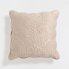 Raised damask cushion cover and quilt - Quilts - Bedroom | Zara Home Jordan