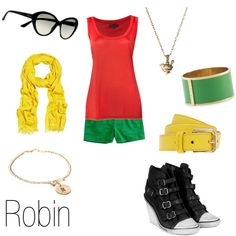"""Robin"" by ja-vy on Polyvore    Want this so badd"