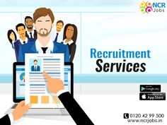 #RecruitmentServices gives the job seeker the job at a single place without any problem. Here the applicants can find jobs according to their passion and their qualification. See more @ http://bit.ly/2hPHwAl #NCRJobs #JobPortal