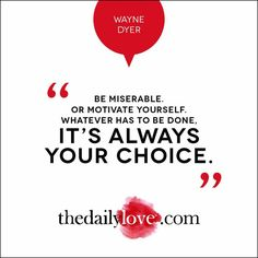 Visual Inspiration: It's Always Your Choice