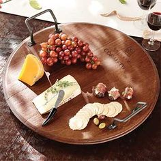Wine and Cheese Tray / Wine Tray -- Orvis