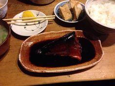鯖の煮付け( ̄(エ) ̄)v