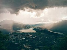 After rain comes the sun! #livelovevalsugana #puntalago #mountains #lakes #caldonazzo