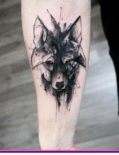 50 Wolf Watercolor Tattoo Designs for Men - Cool Ink Ideas- 50 Wolf Aquarell Tattoo Designs für Männer – Cool Ink Ideas 50 Wolf Watercolor Tattoo Designs for Men – Cool Ink … - Game Of Thrones Tattoo, Tatouage Game Of Thrones, Cool Forearm Tattoos, Head Tattoos, Body Art Tattoos, Sleeve Tattoos, Cross Tattoos, Finger Tattoos, Wolf Tattoo Design