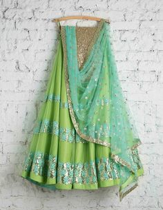 Beautiful Lehenga from Mumbai by SwatiManish  Buy Designer Sarees, designer lehenga, ethnic collections, indian designer lenghas, designer lehenga choli, summer sale, wedding designer lehengas, bridal lehengas, designer suits, designer gowns, bollywood designer lehenga, lenghas online, online sales, summer collections, Designer Collection, Bridal Lehenga