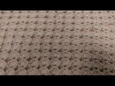 Punto vintage incrociato all'uncinetto by Oana - YouTube