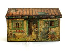 1930's Brothers Cattorno, Italian Cottage Tin from treasureschest ... rubylane.com