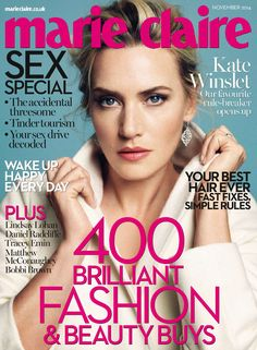 Beautiful makeup - Kate Winslet always looks gorgeous