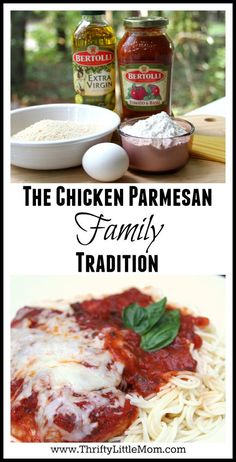 Chicken Parmesan Family Tradition. #sponsored I perfected this family recipe over 10 years of experimentation. Easy enough for a weeknight and fancy enough for a special occasion!