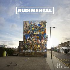 Rudimental - Home. This is the Hackney Peace Carnival Mural, off Dalston Lane. 'Free'