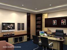 25 Desain Interior Kantor Minimalis Modern Yang Indah   Desainrumahnya.com