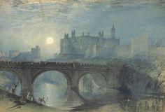 Alnwick Castle by William Turner, 1829