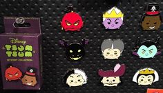 The Disney Villains Tsum Tsum Pins were previewedawhile back and they have just made their way to the Parks. Our friends over at DisneyPinsBlog.com is reporting the new mysteryboxed set has been spotted at Disneyland. Look for the set to also surface at Walt Disney World Pin locations and on the