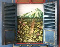 """Check out new work on my @Behance portfolio: """"Coffee Plantation Mural for Red Spatula Coffee"""" http://be.net/gallery/59976187/Coffee-Plantation-Mural-for-Red-Spatula-Coffee"""