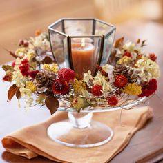 Autumn Table Wreath