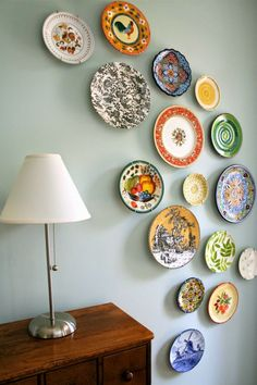 How to Use Plates to Decorate & 26 Unique Wall Decor Ideas \u2013 From the Desk of RugKnots   Inspiration ...