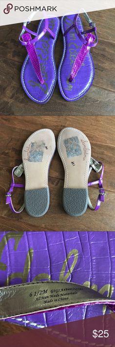 Sam Edelman Gigi Sandals 6.5 Excellent preowned condition. Size 6.5. Sam Edelman Shoes Sandals