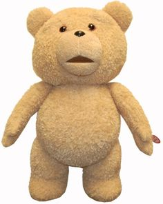 This item has features and themes that are for adults only. Ages 18 and up. Recommended for mature collectors. Not your average teddy bear! He's the whimsical wonder of Seth MacFarlane's Ted film. This talking plush with moving mouth says some raunchy stuff, including the Thunder Song!