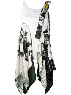 91 Best Scarf Refashion Images Blouses Couture Facile Casual Looks