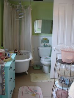 Image detail for -and this farmhouse bathroom was funked up by my friend
