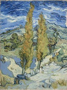 The Poplars at Saint-Rémy...........lbxxx.