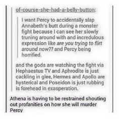 percy jackson and the olympians funny Percy Jackson Memes, Percy Jackson Books, Percy Jackson Fandom, Percabeth, Solangelo, Percy And Annabeth, Annabeth Chase, Fandoms Unite, Oncle Rick