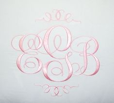 Elegant Monogram Font....absolutely gorgeous!