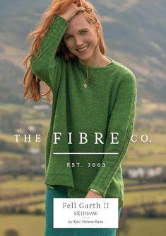 53ef343e8b7282 Skiddaw Sweater in The Fibre Co. Arranmore Light - Downloadable PDF