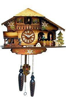 9 Inch Black Forest Beer Stein Cuckoo Clock A Ious And Delightfully Decorated Chalet Is The Focal Point Of This Battery Operated