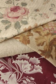 Antique Vintage French Fabric Material 19th Century Fabrics Old Project Bundle   eBay