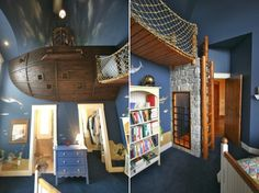A Pirate Ship Bedroom