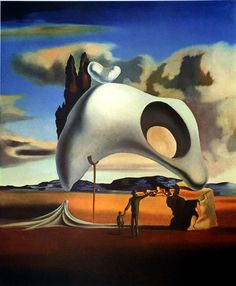 Catawiki online auction house:  Salvador Dalí (after) -Atavistic Vestiges After the Rain