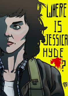 Jessica Hyde (Utopia) digital color - Antonio Marusso
