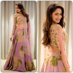 Pragya Jaiswal wore this beautiful Bhumika Sharma lehanga and earrings from Belleza for an engagement in Hyderabad..Styled by the amazing Anisha Gandhi n Rochelle D sa. 23 June 2017