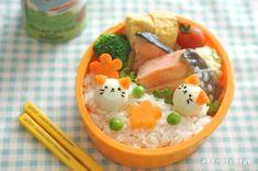 ねこちゃん鶉のお弁当