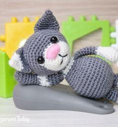 ❤ Toby cica amigurumi figura (ingyenes horgolásminta) ❤Mindy - kreatív ötletek és dekorációk minden napra