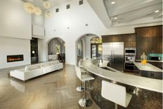 Modern Contemporary Living Area