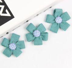 Lovely Flower Applique Hair Accessories DIY Craft Clothes Embellishment 10pcs | eBay