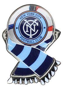 New York City FC MLS Scarf Pin