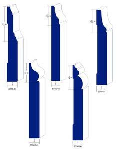 Catalog Moulding Knives Baseboards-A