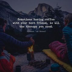 Sometimes having coffee with your best friend is all the therapy you need. via (http://ift.tt/2p8Q0Hf)