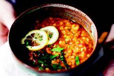 Four Corners Lentil Soup recipe Best Lentil Recipes, Healthy Recipes, Vegetarian Recipes, My Favorite Food, Favorite Recipes, Red Lentil Soup, Lentil Salad, Stewed Potatoes, Lentils