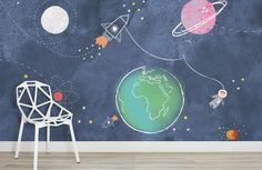 kids-space-rockets-nursery-room